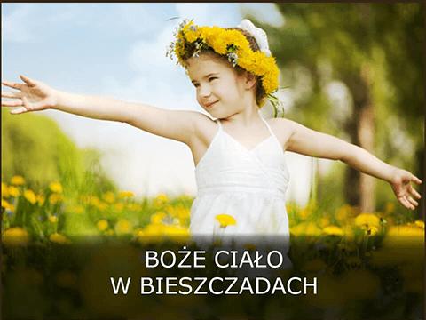 Spokojne Boże Ciało w Bieszczadach