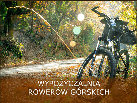 Wypożyczalnia nowoczesnych rowerów Bieszczady