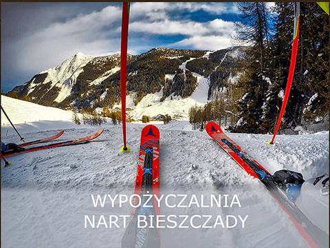 Wypożyczalnia nart w Bieszczadach